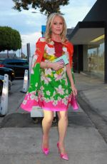 Kathy Hilton Pictured arriving for dinner at Craig's in West Hollywood