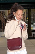 Katie Holmes Out in NYC