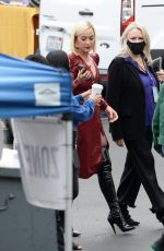 Katy Perry Pictured Arriving at the top 5 American idol Finalist Show in Los Angeles