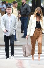 Kelly Bensimon Looks chic while on a stroll through the Big Apple, New York