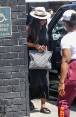 Kelly Rowland Goes jewelry shopping at XIV Karats in Beverly Hills