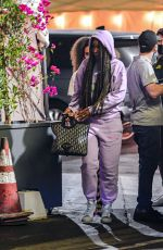 Kelly Rowland Was spotted out at dinner after Sushi in Studio City