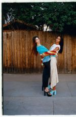 Kendall Jenner and Laura Harrier - Vogue Magazine, 2021