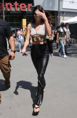 Kendall Jenner As she is spotted leaving the LA Lakers vs Phoenix Suns basketball game Los Angeles