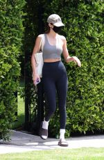 Kendall Jenner At post Pilates workout in West Hollywood