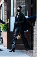 Kendall Jenner & Joan Smalls Leave The Greenwich Hotel in New York