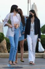 Kendall Jenner Out for dinner in Malibu