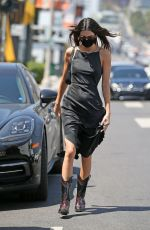 Kendall Jenner Seen leaving petit taqueria after lunch