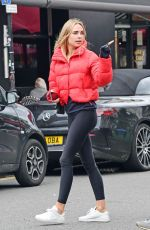 Kimberley Garner Out in Notting Hill