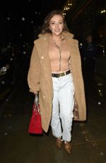Kimberly Hart-Simpson Showing off her new hair doo in Manchester