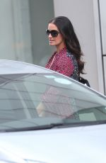 Kirsty Gallacher Makes busty appearance heads out to lunch in Kings Cross
