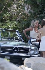 Kristin Cavallari Spotted During a Photoshoot for Uncommon James in the Palm Springs Desert