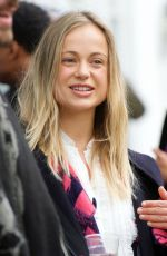 Lady Amelia Windsor Pictured with her cousin Cassius in London