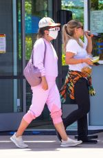 Lady Gaga Goes under the radar for lunch with her assistant in Malibu