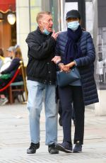 Lady Shakira Caine Seen on the Kings Road in Chelsea