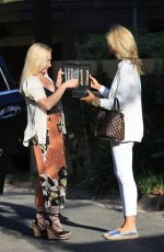 Lady Victoria Hervey In the midst of recording a TV show while out in Beverly Hills
