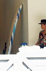 Laeticia Hallyday Moving out of her home which was built for her by her late husband Johnny Hallyday in the Pacific Palisades
