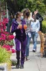 Laura Dern Spend quality time with her kids Jaya and Ellery with an outdoor dinner date in Brentwood