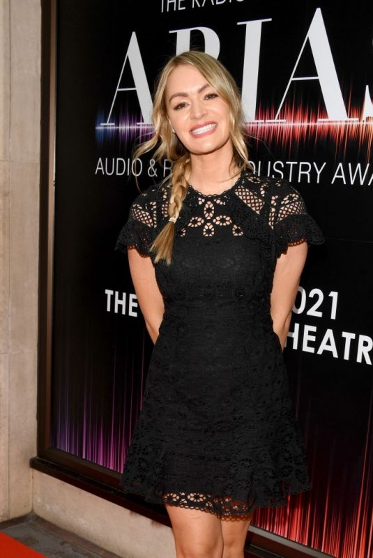 Laura Woods At Audio & Radio Industry Awards 2021 in London