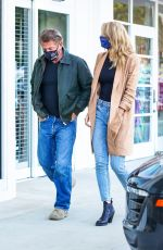 Leila George Steps out for dinner in Malibu