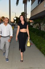 Leni Rico Celebrities are spotted arriving for Taryn Manning