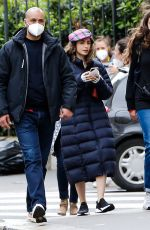 """Lily Collins On the set of """"Emily in Paris"""" in Paris"""
