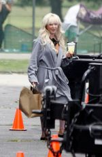 Lily James Transforms into the character of Pam Anderson for the new Hulu show