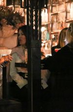 Lisa Vanderpump Enjoys a night out with her husband and friends in West Hollywood