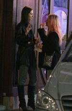 Lottie Moss Keeps it casual for a night out in Soho