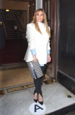 Louise Redknapp Pictured at Vaudeville Theatre Drag Queens of Pop Press Night in London