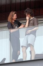 Luciana Gimenez Spends some quality time with her son Lucas Maurice Morad Jagger on Mother