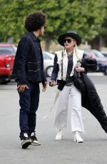Madonna Walks hand in hand with 26-year-old toyboy Ahlamalik Williams in Los Angeles