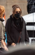 Marisa Tomei Arrives on the set of