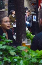 Mary-Kate Olsen Is all smiles as she dines out with a mystery man in New York City