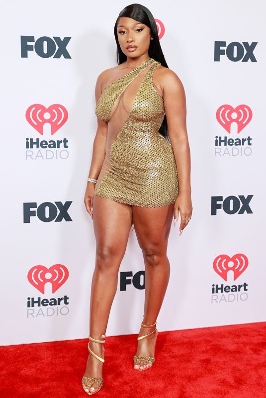 Megan Thee Stallion At 2021 iHeartRadio Music Awards at The Dolby Theatre in Los Angeles