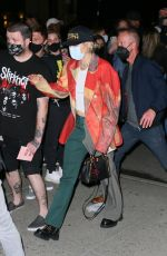 Miley Cyrus Arrives at the Bowery hotel in New York City