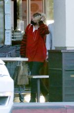 Mischa Barton Goes grocery shopping with her boyfriend Gian Marco Flamini at Erewhon Market in Los Angeles