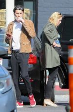 Mischa Barton Goes shopping with her boyfriend Gian Marco Flamini at Leica Camera Store in Los Angeles