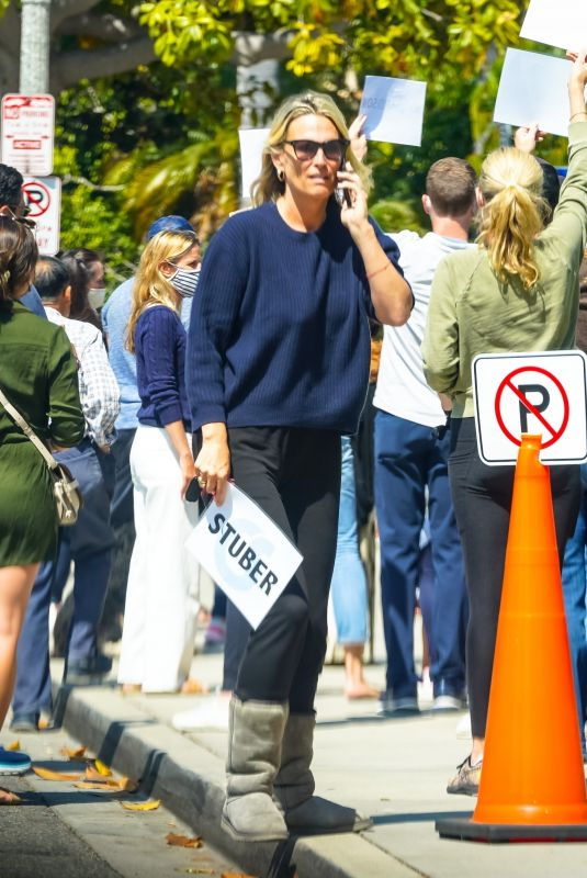 Molly Sims Looks casual cool while out in Los Angeles