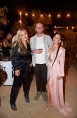 Natalie Alyn Lind At Caliwater Escape at the Mojave Moon Ranch in Joshua Tree, California