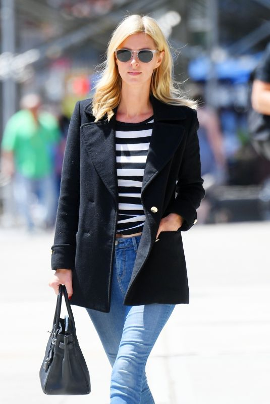 Nicky Hilton Keeps it casual while out running errands in New York