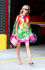 Nicky Hilton Looking pretty and colorful during her stroll in New York City