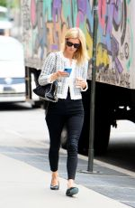 Nicky Hilton Rothschild Dons a stylish black and white ensemble out in East Village