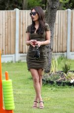 Nicole Bass At The Only Way is Essex TV Show filming