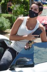 Nicole Murphy, ex-wife of Eddie Murphy, is spotted out and about in West Hollywood