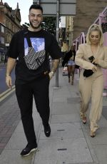 Paige Turley Enjoys night out at Boujee bar in Manchester