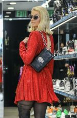 Paris Hilton Went on a shopping spree on Rodeo Drive at german designer Philipp Plein store in Beverly Hills