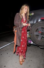 Paris Jackson At Catch in West Hollywood
