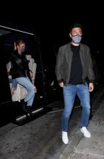 Petra Ecclestone Looks stylish as she sports a Prada purse while out for a dinner date with her fiancé Sam Palmer at Catch LA in West Hollywood