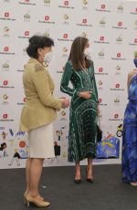 Queen Letizia During the presentation of the 43rd edition of the SM awards for children
